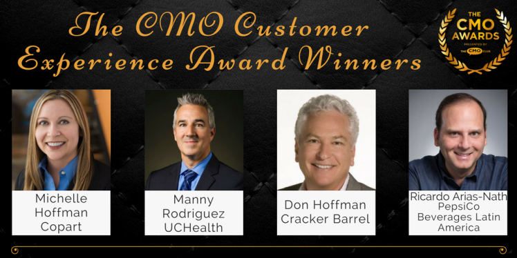 The CMO Awards Customer Experience Award Winner 2017